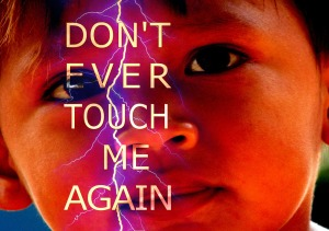 Don't Touch Child Abuse Pixabay