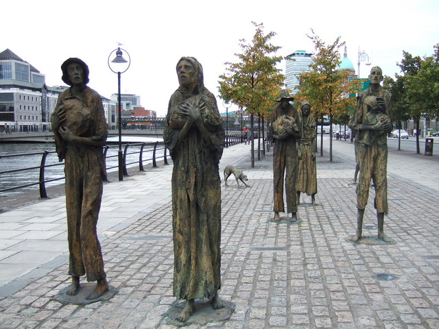Famine_memorial_by_the_Liffey_-_geograph.org.uk_-_338074